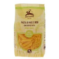 Makaron penne (kukurydziano - ryżowy) bezglutenowy bio 250 g - alce nero marki Alce nero (włoskie produkty)