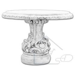 Mebel ogrodowy z betonu, stół ogrodowy marki 1