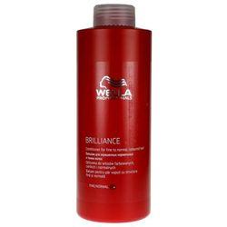 Wella  brilliance - odżywka do cienkich włosów farbowanych 1000ml