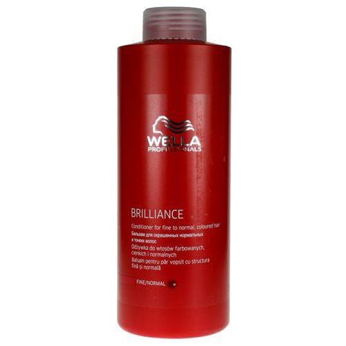 Wella Brilliance - odżywka do cienkich włosów farbowanych 1000ml (pielęgnacja włosów)