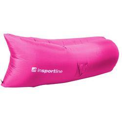 Oryginalny dmuchany leżak lazy bag na lato sofair materac fotel, ciemno-zielony marki Insportline