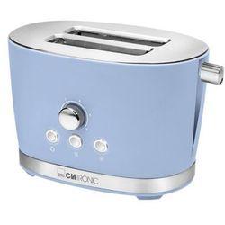 toster z dwoma szufladami ta 3690, 850 w, retro, niebieski marki Clatronic