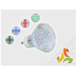 Żarówka diodowa PHILIPS ACCENT COLOR 1,5W GU10 (MULTI) (świetlówka) od MEZOKO.COM