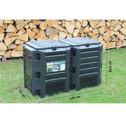 kompostownik module compogreen 800l zielony iksm800z wyprodukowany przez Prosperplast