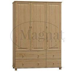 Szafa sosnowa 3d nr7 s133 marki Magnat - producent mebli drewnianych i materacy