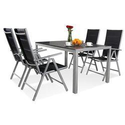 Garden point Zestaw ogrodowy aluminiowy polywood verona dla 4 osób - transport gratis!