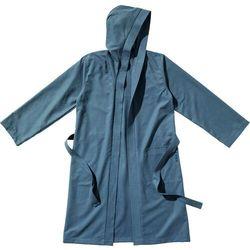 bathrobe ultralight with hood, szary s 2021 ręczniki i szlafroki sportowe marki Traveler's tree
