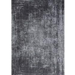 Dywan szaro czarny w jodełkę, Szaro Czarny Dywan w Jodełkę - HARLEM CONTRAST 8425