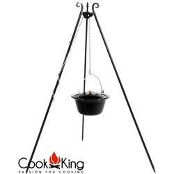 Cookking Kociołek węgierski emaliowany na trójnogu 10l + pokrywa