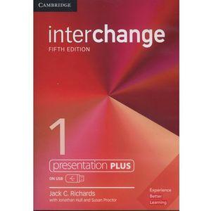 Interchange 1 Presentation Plus USB - Richards Jack C. DARMOWA DOSTAWA KIOSK RUCHU (2017)