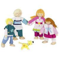 Goki Zestaw kukiełek rodzinka - lalki dla dzieci