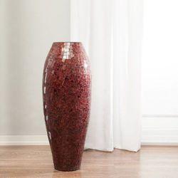 Dekoria  wazon suri bordowo-czerwony, 97cm, 97cm