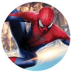 Dekoracyjny opłatek tortowy Spiderman - 20 cm - 3
