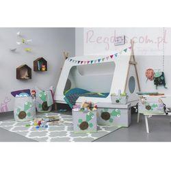 Lassig Skrzynia zamykana na zabawki Wildlife Żółw - produkt z kategorii- Pojemniki na zabawki