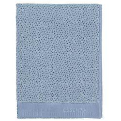 Duży ręcznik kąpielowy w kolorze niebieskim, chłonny ręcznik łazienkowy, marki Essenza