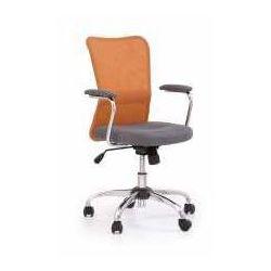 Fotel andy szaro-pomarańczowy - zadzwoń i złap rabat do -10%! telefon: 601-892-200 marki Halmar