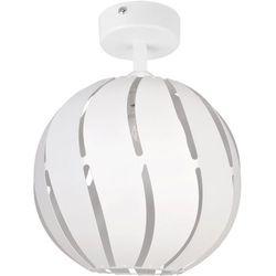 GLOBUS SKOS biały 1 plafon M - lampa sufitowa, 31315
