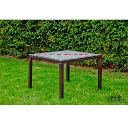 Stół ogrodowy 100 x 100 cm