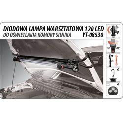 Yato Diodowa lampa warsztatowa do oświetlania komory silnika 120led / yt-08530 / - zyskaj rabat 30 zł (5906083085307)