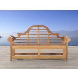 Drewniana ławka ogrodowa 180 cm java marlboro, marki Beliani