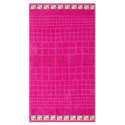 Night in colours  ręcznik kąpielowy mozaik różowy, 70 x 130 cm, 70 x 130 cm