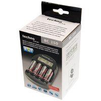 Mikroprocesorowa ładowarka BC-250 do akumulatorów NiCd oraz NiMH z kategorii Ładowarki do akumulatorów