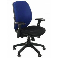 Krzesło obrotowe biurowe KB-912/b/NIEBIESKI