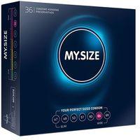 Dopasowane prezerwatywy -  natural latex condom 64mm 36szt marki My size
