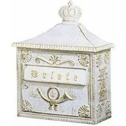 Albert leuchten Albert 700 skrzynka na listy biały, złoty - klasyczny - akcesoria - 700 - czas dostawy: od 6-10 dni roboczych
