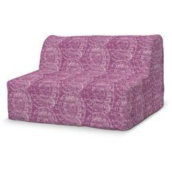 Dekoria Pokrowiec na sofę Lycksele prosty, ciemny pudrowy róż, sofa Lycksele, Mirella
