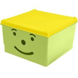 Branq Pojemnik smiley box 15 l. [zielony]