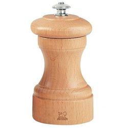 Młynek do pieprzu bistro   jasne drewno   wysokość 100mm marki Peugeot