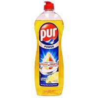 900ml power 3action gel lemon płyn do mycia naczyń marki Pur