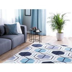 Dywan kolorowy 140 x 200 cm krótkowłosy giresun marki Beliani