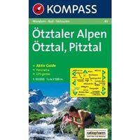 Kompass 43 Otztaler Alpen 1:50T neuveden