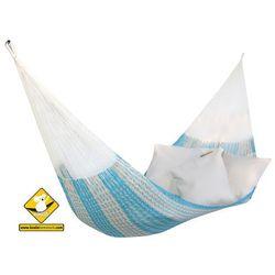 Hamak sznurkowy mały, błękitno - niebieski H-Mexico