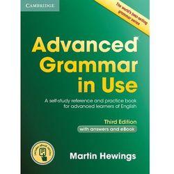 Advanced Grammar in Use with answers and Interactive eBook * natychmiastowa wysyłka od 3,99, rok wydania (201