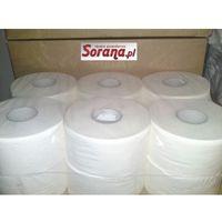 Papier toaletowy big roll , biały, 100% celuloza, 2-warstwowy, 12 rolek marki Papstar