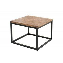 Invicta stolik infinity home 60 naturalne mango - lite drewno mango, metal marki Sofa.pl