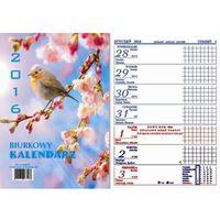 Kalendarz Biurkowy Pionowy (125 x 160) 2017 Mix