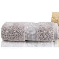 Soft cotton Luksusowe ręczniki kąpielowe deluxe 75x150cm jasnoszary