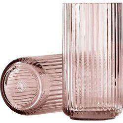 Lyngby Wazon szklany burgundy 20 cm
