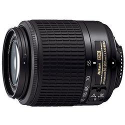Nikon Nikkor 55-200 mm f/4.0-5.6G DX AF-S czarny z kategorii Obiektywy fotograficzne