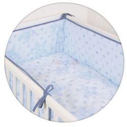 Ceba pościel bawełniana c-3 druk gwiazdki niebieskie marki Ceba baby