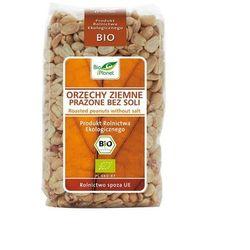 Bio Planet: orzechy ziemne prażone bez soli BIO - 350 g - produkt z kategorii- Bakalie, orzechy, wiórki
