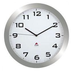Zegar ścienny, kolor metaliczny