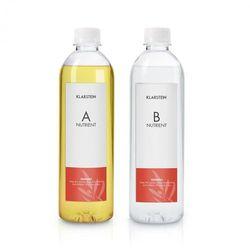 growlt nutri kit 300 pożywka roztwór wodny wyposażenie akcesoria 2 x 300 ml marki Klarstein