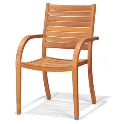Krzesło ogrodowe Catalina z podłokietnikami