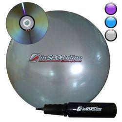 inSPORTline Comfort Ball 45 cm - IN 3913-1 - Piłka fitness+DVD, Szara z kategorii Piłki i skakanki