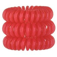 Invisibobble Hair Ring 3szt W Gumka do włosów Red